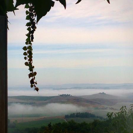 Sunrise from Montalcino, Italy