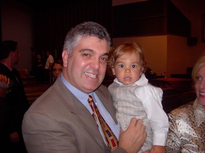 Nicholas' baptism: 08/22/04
