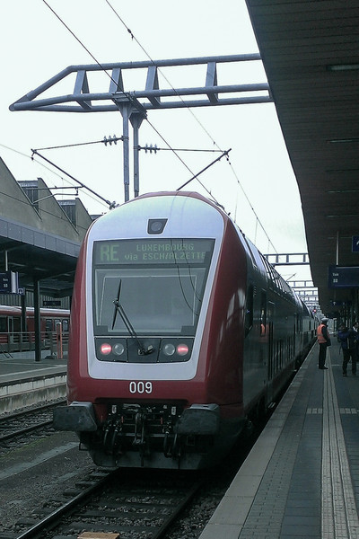 Thursday, October 17 - High speed TGV train  to Luxembourg