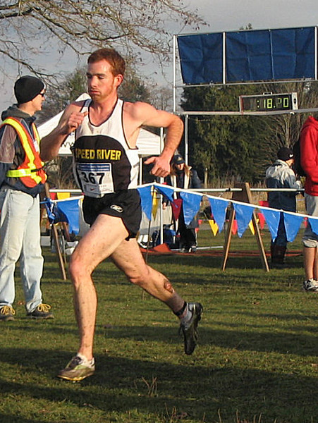 2005 Canadian XC Championships - Coolsaet 4th, another 5 seconds back