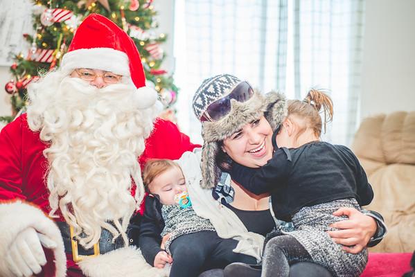2014.12.23 Santa and Kids