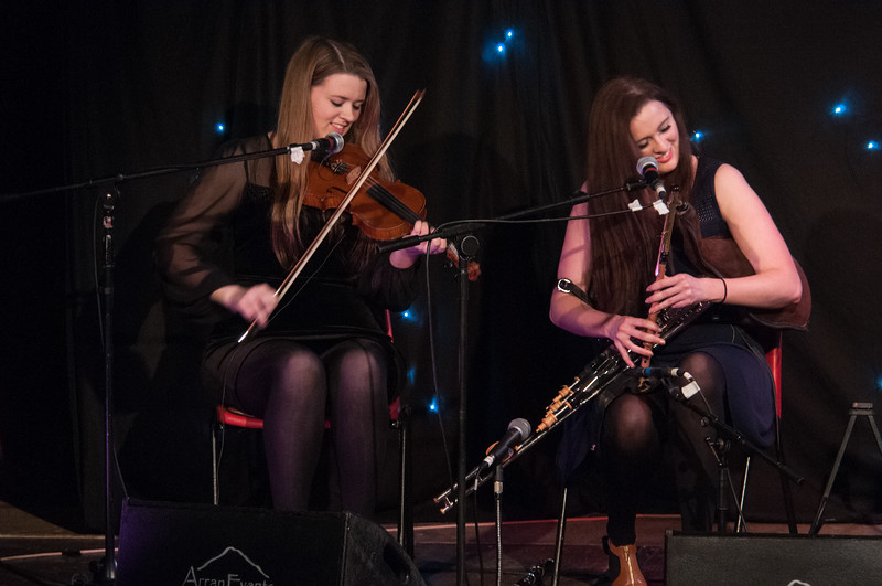 Clare and Síle Friel