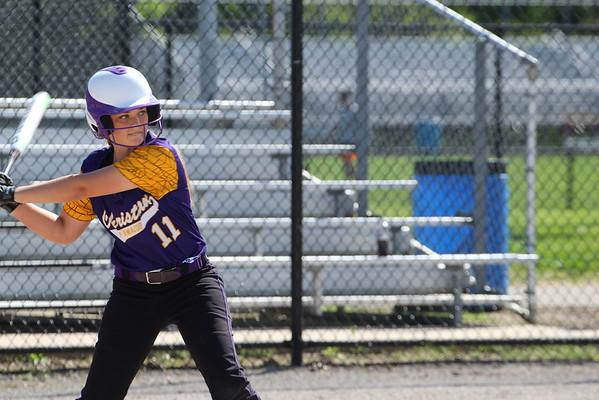 Softball vs. Parchment - KCHS - 5/13/15