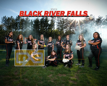 Black River Falls softball SB19