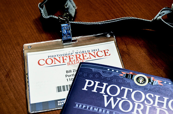 0912 ticket  This was my ticket for all of the Photoshop World events last week.