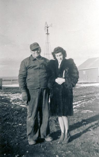 Ed and Martha Wilcox
