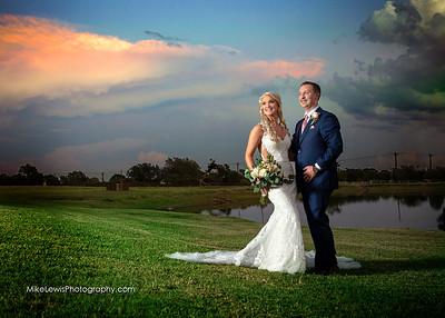 Makayla & Zach wedding at Villagio in Burleson