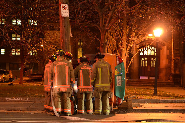 December 13, 2011 - Vehicle Rollover - Church St. & Queen St. East