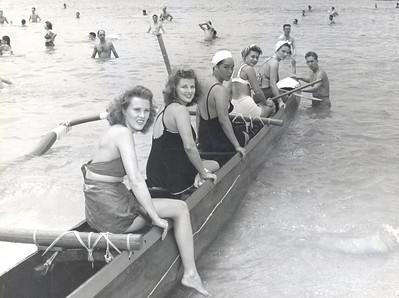 Outrigger Canoe Club Canoe Racing 1941-1963