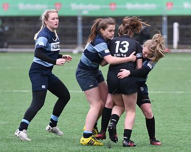 2018 01 14 - Blues Ladies u18 15 v Ospreys Women u18 17