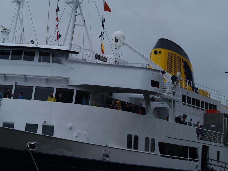 M/V Malaspina - 50th anniversary of the Alaska Ferry System