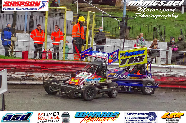 BriSCA F2 Stockcars, Hednesford 1 November 2020