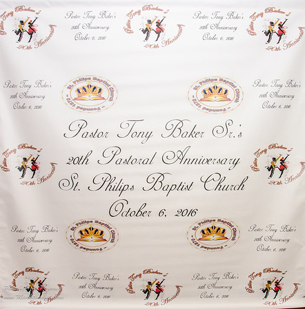 Rev. Dr. Tony Baker's 20th Pastoral Anniversary