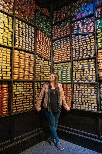 Amanda at Warner Bros. Studio Tour London