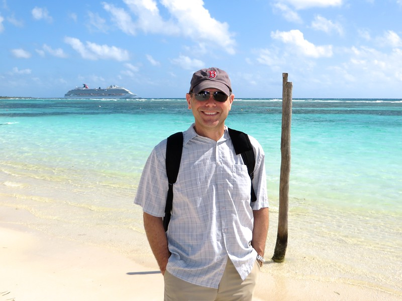 All smiles from Sully in Costa Maya, Mexico