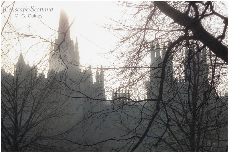 City of spires - the view from Princes Street
