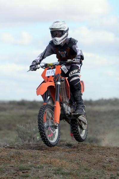 2009 Desert 100 Kids Race #1- Orange Bikes