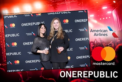 11.29.2016 - One Republic - Sponsored by MasterCard & American Airlines