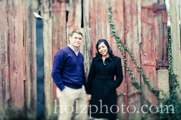 Joanne & Justin Creative Engagement Photos