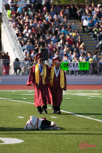 Fremont High Graduation 6-6-13
