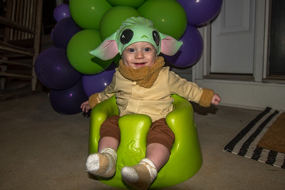 Ezra's first Halloween