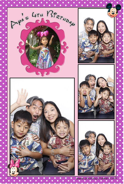 Aya's 1st Birthday (Luxe Booth)