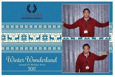 "Winter Wonderland ""Caesars IT"" Holiday Party 2017"