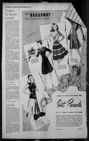 Daily Trojan, Vol. 34, No. 83, February 12, 1943