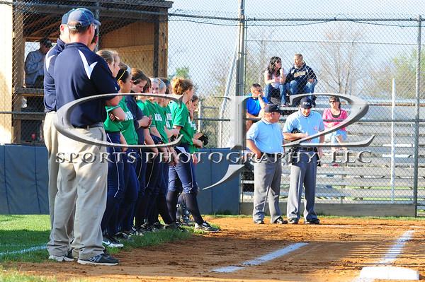 4-12-2013 Woodgrove at Loudoun County Softball