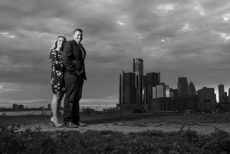 Detroit Michigan Engagement Session Photography