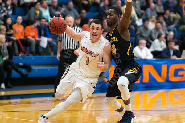 Wheaton College Men's Basketball vs Augustana, January 16, 2019