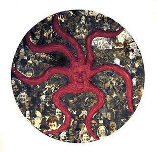 Red Medusa by Cristina Biaggi