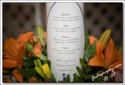 Kathie & Frank's Wedding - Miamisburgh, Ohio - 29September07