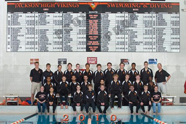 Boys Swimming - Jackson Team