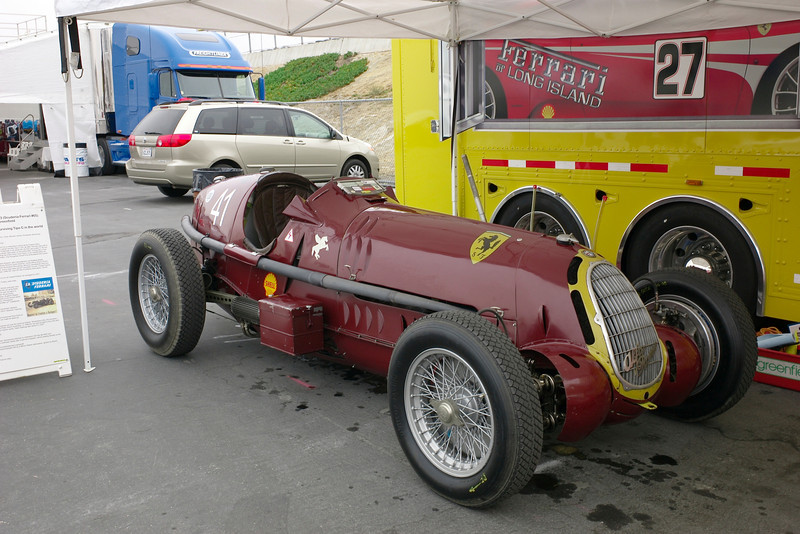 late Alfa 1930's race car, campaigned by Scuderia Ferrari. Details follow....