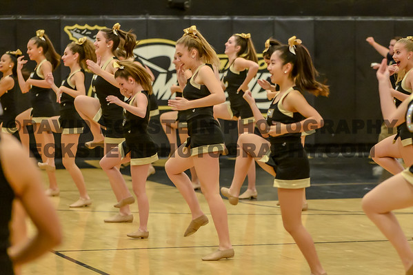 20150120 Canyon vs Foothill Cheer and Dance