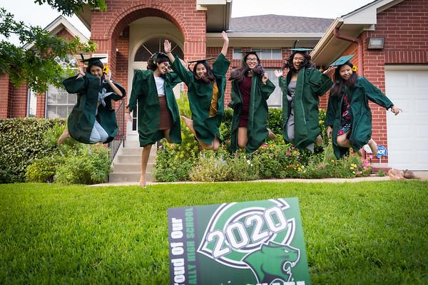 Sarah HS Graduation Photos with Friends
