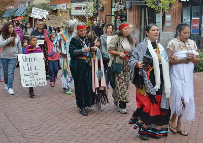 Dakota Pipeline Protest - Boulder,Co - 9/13/16