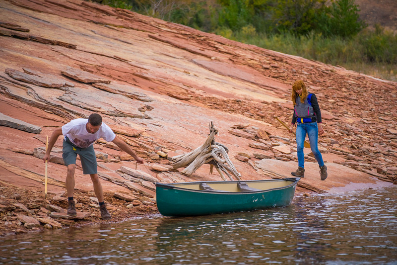 Boating - Canoe, Red Fleet State Park