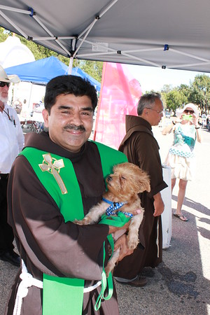 10-05-13 Blessing of the Animals Festival