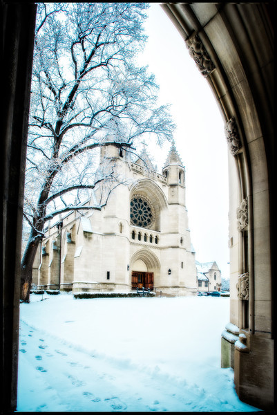 Winter in University Circle