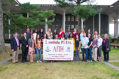 2016 Lambda Pi Eta Induction Ceremony