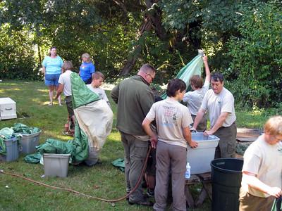 Tent Washing - Sep 7