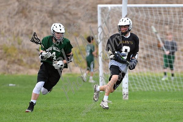 Berks Catholic vs Twin Valley Boys Junior High Lacrosse 2016 - 2017