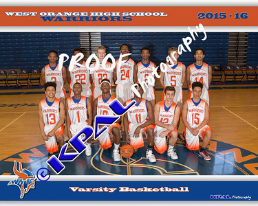 Basketball Team Pictures 2015-16
