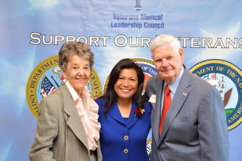Kay Loftin, Dr. Mariano & Bill Shover