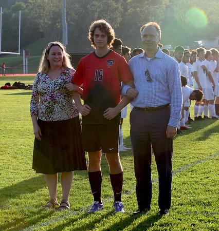 Boys Soccer Senior Night (9/13/18)