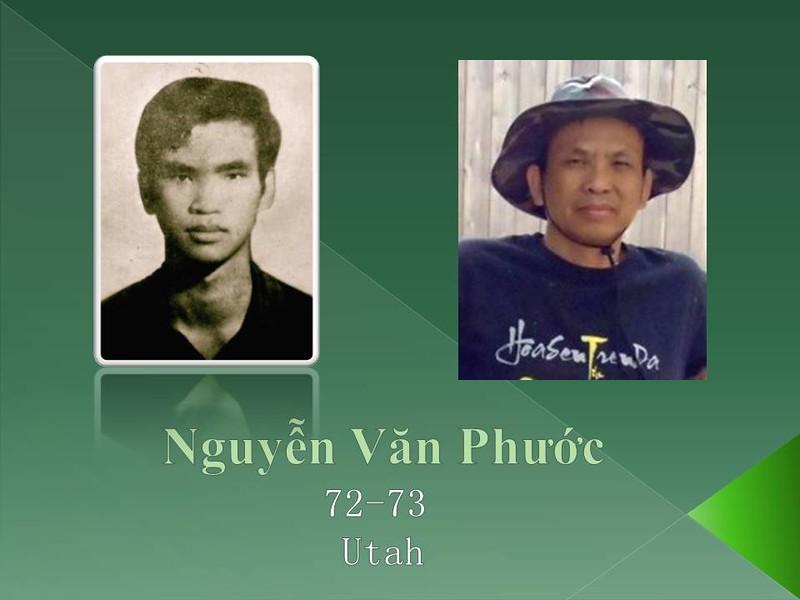Nguyễn Văn Phước,Utah