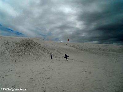 Sandboarding Atlantis Dunes