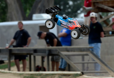 Photos: Drivers practicing RC car racing for the Border Wars Series